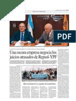 Una oscura empresa negocia los juicios atrasados de Repsol-YPF