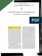 Berkman&Kawachi Historical Framework