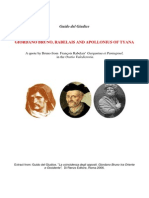 BRUNO, RABELAIS AND APOLLONIUS OF TYANA