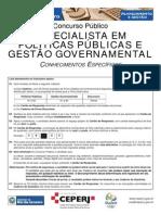 EPPGG - Conhecimentos Específicos