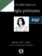 Antología Póstuma