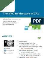 MVC Architecture ZF2