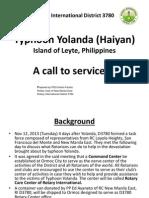 Oplan Yolanda Presents-Full 12-19-13 (FCP Grace) RI District 3780