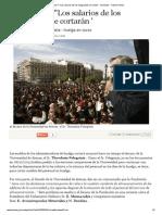 Pelegrinis ª_ _Los salarios de los huelguistas se cortan_ - Sociedad - Tribune Online