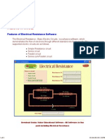 ELECTRICAL RESISTANCE - Download Basic Electric Circuits Software