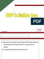 Ospf Multiple Area