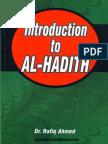 IntroductionToAl-hadithByDr.RafiqAhmad
