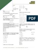 Matematica Determinantes Exercicios