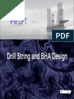 Drill String Design & BHA Design