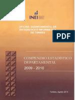 TUMBES - COMPENDIO ESTADISTICO 2009-2010