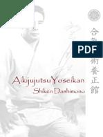Aikijujutsu Yoseikan Shiken Dashimono 2012