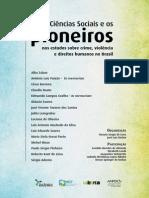 As Ciências Sociais e os pioneiros nos estudos sobre crime, violência e direitos humanos no Brasil
