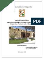 1.Memoria y Especificaciones Museo Algarrobal