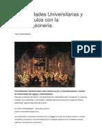 Fraternidades Universitarias y Sus Vinculos Con La Francmasoneria