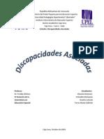 DISCAPACIDADES ASOCIADAS