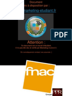 Strategie CRM Fnac