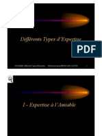 Différents Types Expertises