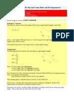 Topic 20 Further Trigonometry