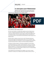 Bayern Muenchen Club Wm Sieg