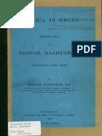 Replica Di Krupp Alla Protesta Del Signor Bashforth - Krupp (1898)