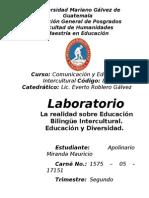 Evolución de la EBI en Guatemala