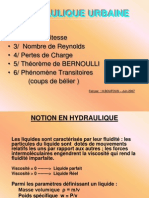 Notion en Hydraulique