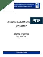 Aula 03 Metodos de Preparacao Desportiva