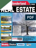 Water Wonderland Real Estate Guide - December 2013