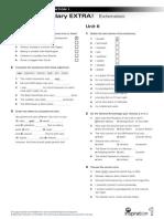 Vocabulary-EXTRA NI 1 Units 5-6 Extension