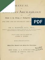 Maspero Manual of Egyptian Archaeology