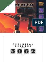 183961059 Battletech Technical Readout 3062 Fan Made PDF