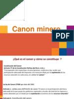 Exposicion Canon Minero