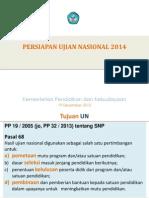 Sosialisasi UN 2014