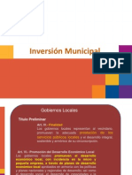 Exposición Inversion Municipal