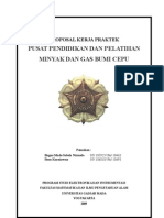 Proposal Kerja Praktek Pusdiklat Migas Cepu