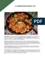 Come cucinare i gamberoni al forno o in padella