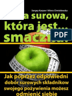 Sergey Karpov i Wiera Chmielewska - Dieta surowa która jest smaczna - Ebooki Zdrowie