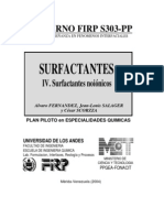 Surfactantes noiónicos