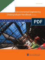 Undergraduate Handbook CEE at UIUC