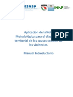 APLICACIÓN METODOLÓGICA PARA EL DIAGNÓSTICO TERRITORIAL DE LAS CAUSAS SOCIALES DE LAS VIOLENCIAS