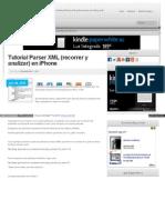 Tutorial Ios Parser XML Recorrer iPhone