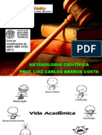 AULAS METODOLOGIA CIENTÍFICA - MANUAL 2013 (2)