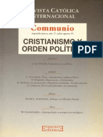 Revista Catolica Internacional. Comunio