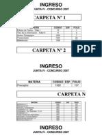 Indice Definitivo Ingreso 2007_junta_iv