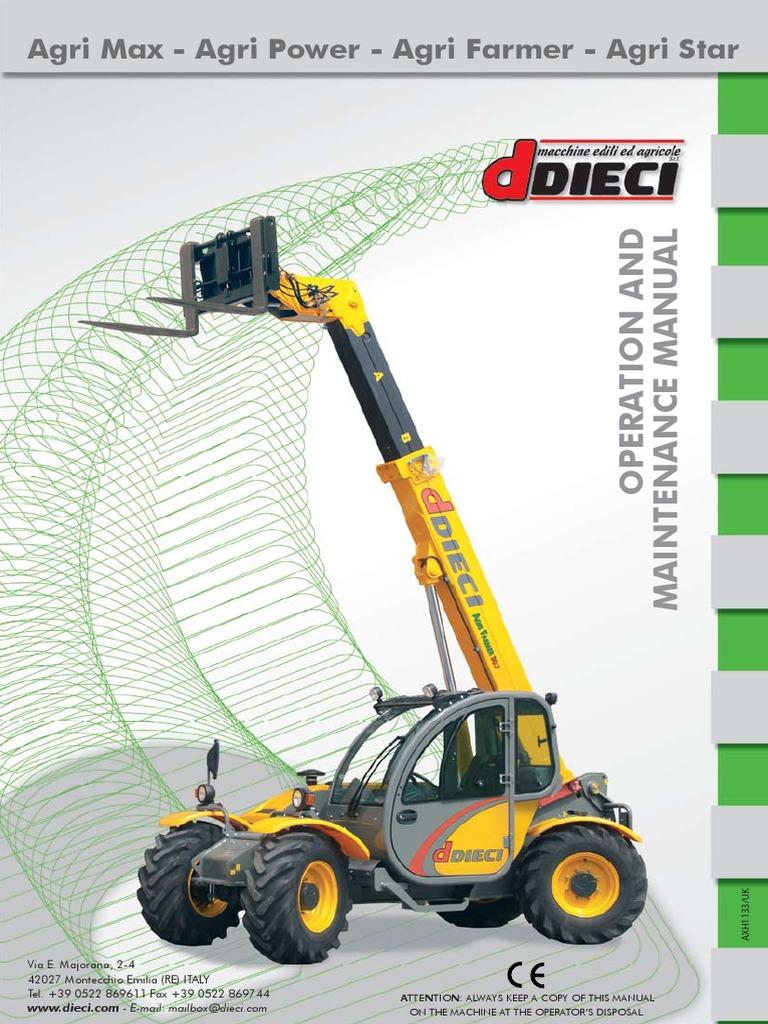 Operation & Maintenance Manual   Dieci   Elevator   Vehicles