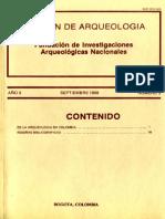Boletin de Arqueologia  FIAN año 3 n3