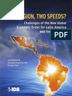 IDB One Region, Two Speeds. Izquierdo Talvi 2011