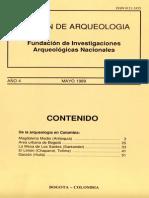 Boletin de Arqueologia  FIAN año 4 n2
