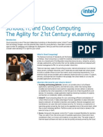 Cloud Computing Education 21st Century e Learning Study
