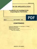 Boletin de Arqueologia  FIAN año 7 n3